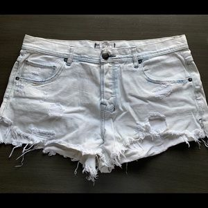 Free People Jean Shorts - size 30
